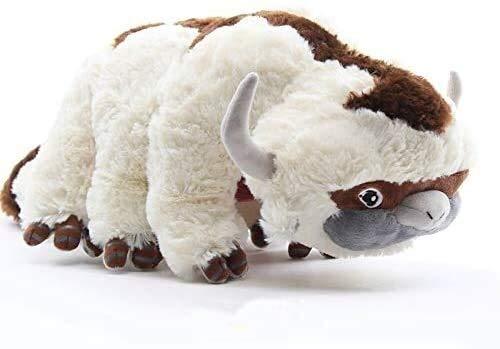 Pluchen speelgoed 40cm Big Size Anime Kawaii Avatar Appa knuffeldier Fluffy Pluche Toy knuffelpop dljyy