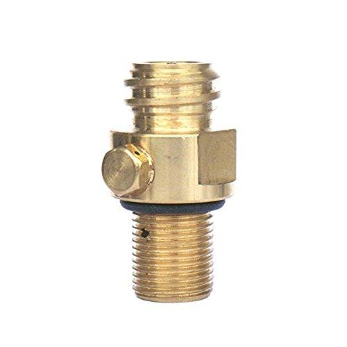 Válvula adecuada para SODASTREAM 425 g/885 g y botellas de CO2 Grohe Blue Home, cilindros de agua cristales, bebidas frías, etc.