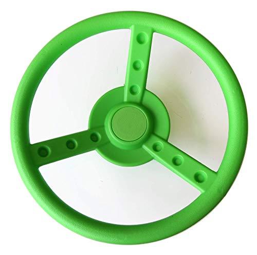 Gartenpirat Lenkrad apfelgrün für Spielturm, Spielhaus, Stelzenhaus