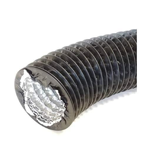 Tubo de salida de aire (aislamiento de aluminio, campana extractora, tubo flexible combinado de aluminio y PVC)