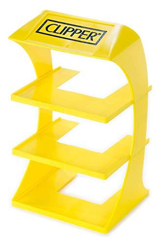 Clipper Encendedores tres niveles estante de exhibición para el último Clipper Collector