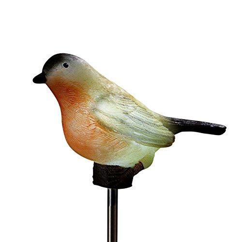 Solar Gartenstecker Vogel Motiv Nr. 1 Beleuchtung Deko Garten 13012