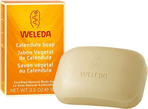 Jabón Vegetal de Caléndula, Pieles Sensibles y Niños - Weleda - 100 g