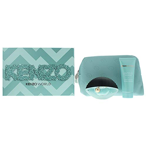Kenzo Kenzo World Eau De Parfum Spray 50ml Set 3 Parti 2019