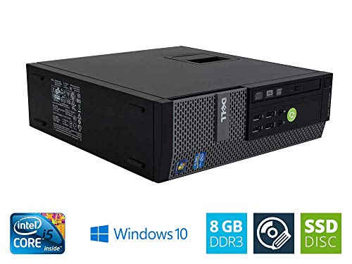 DELL OptiPlex 7010 SFF Intel Core i5 3.20 GHz 8GB DDR3 240GB SSD DVD Writer Windows 10 Home 64bit (Generalüberholt)