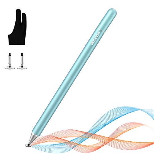 Lápiz Stylus Capacitivo Universal,WOEOA Stylus Pen con Dibujo Guante,Bolígrafos Digitales para Pantalla Táctil Ipads,iPad Mini/iPad Air/iPad Pro,Samsung,Teléfonos móviles,Smartphones y Tabletas