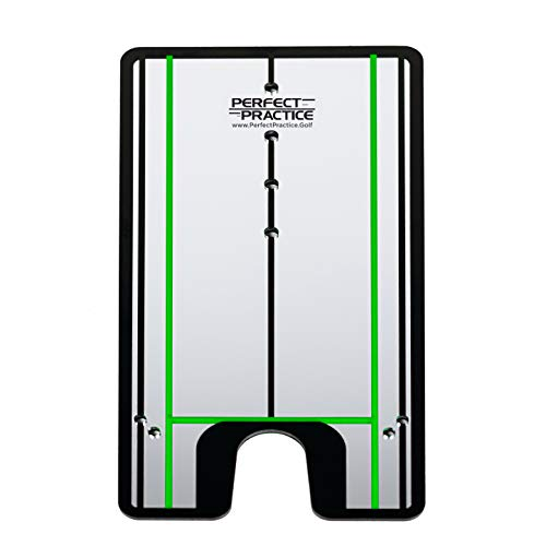 PERFECT PRACTICE Putting Alignment Mirror to Help...