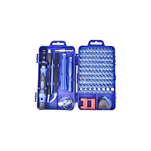 GIAO Juego de Destornilladores de Precisión, Kit de Herramientas Precision de Reparación de Bricolaje Profesional Destornillador triwing(Color:C)