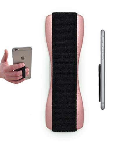 Hülle-Hero Premium Smartphone Fingerhalterung | inkl. ERSATZKLEBER | EINHAND Modus für Handy, Tablet, eReader | Hülle und Hülle | Auto Outdoor Finger Halterung | iPhone 6/7/plus, iPad, Samsung Galaxy.
