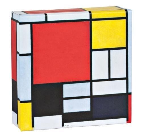 Piet Mondrian Mini FlipTop Notecard Box