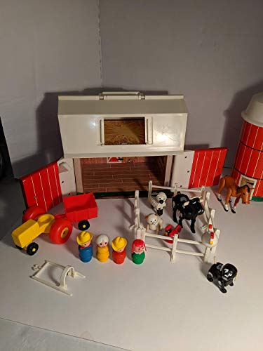 Fisher-Price Vintage Little People Family Farm Yard Play Set #915