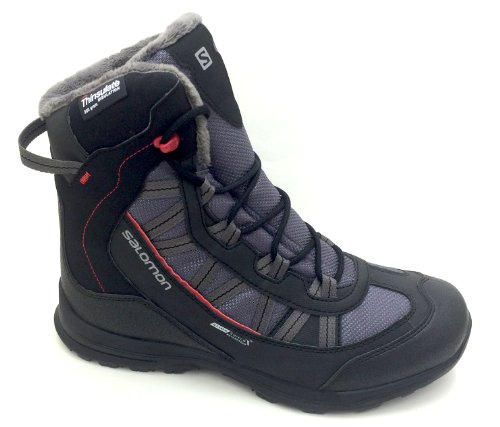 Salomon Apr-Stiefel Cender TS CS WP M, D.CLOUD/BLK/RED, 7,5