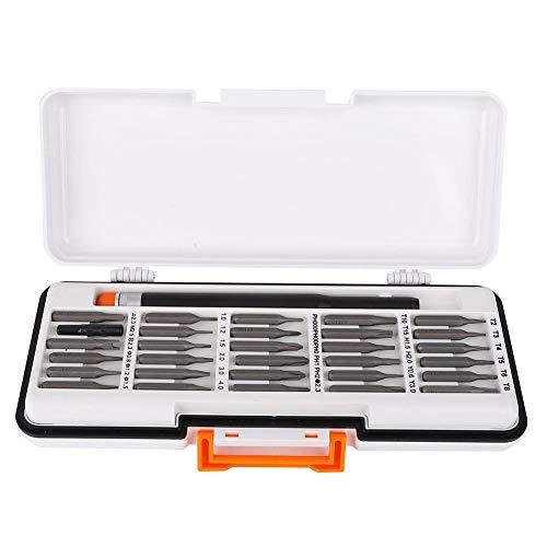 31 piezas/juego de puntas de destornillador de aluminio prácticas, juego de puntas de destornillador, para herramientas de mantenimiento de equipos de reparación(Electric batch)