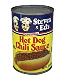 Steve's & Ed's Hot Dog Chili Sauce 10.5 Oz. (4-Pack)