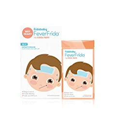 Fever Reducer - Cool pads help comfort your little one when a fever hits and safe to use with oral medication Instant cooling - immediate cooling relief; No refrigeration required - peel off backing and stick gel patch anywhere and lasts up to 8 hou...