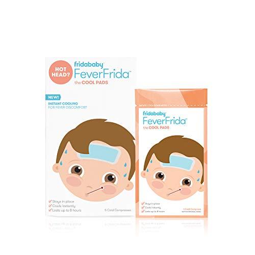 FridaBaby Cool Pads for Kids Febre desconforto da fridababy, 5 unidades