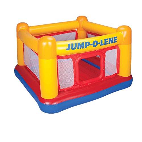 FGVDJ Castillo Inflable, trampolín Inflable para Interiores y Exteriores, Juegos de Juegos para niños, Piscina de Bolas oceánicas, Regalo para un Amigo