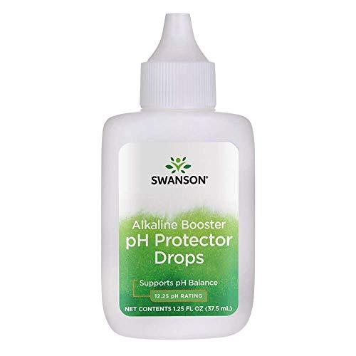Swanson Alkaline Booster ph Protector Drops pH Balance 1.25 fl Ounce (37.5 ml) Liquid