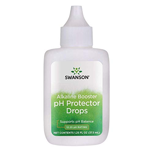 Swanson Alkaline Booster ph Protector Drops 1.25 fl Ounce (37.5 ml) Liquid