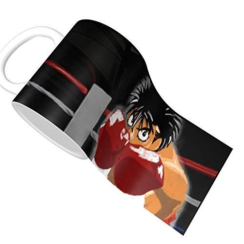 Kamogawa Boxing Gym Hajime No Ippo 10 - Taza de café de cerámica, diseño único y novedoso, ideal para regalo de cumpleaños