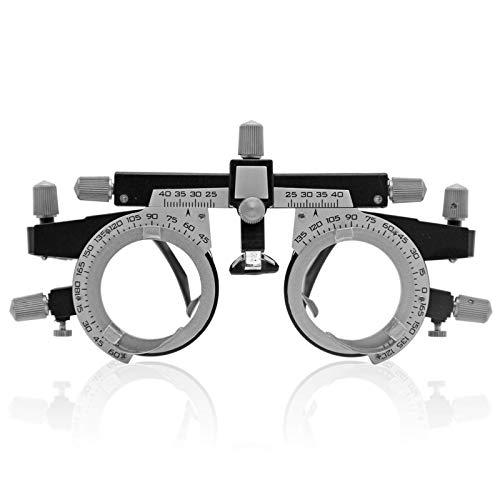 MJJ Montura de Lente de Prueba ultraóptica Ajustable Gafas