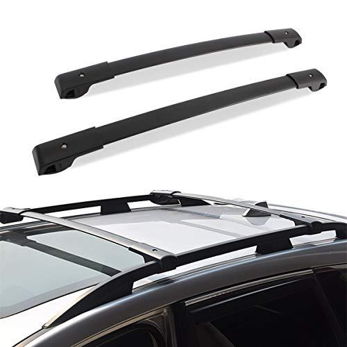 JinsanityPerformance Roof Rack Cross Bars Compatible for 2014-2019 Subaru Forester / 2012-2019 Impreza with Side Rails, Rooftop Luggage Cargo Bag Carrier Bike Canoe Kayak