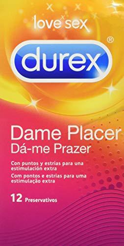 Durex 5038483435878 Männliches Kondom in Safer Sex 12 Unidad, Gib Mir Genuss