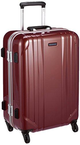 [ワールドトラベラー] スーツケース サグレス ストッパー付 50L 55 cm 4.3kg レッド