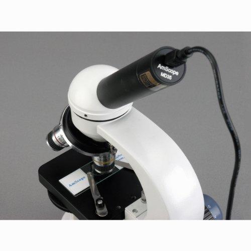 AmScope M158C-E Compound Monocular Microscope