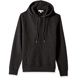 Amazon Brand – Goodthreads Men's Pullover Hoodie Sweatshirt, Black, Large