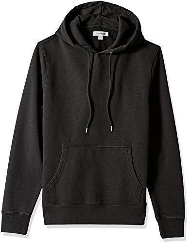 Marca Amazon - Goodthreads – Sudadera con capucha de forro polar para hombre, Negro (black), US S (EU S)