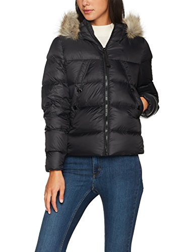 G-STAR RAW Damen Whistler HDD Down Fur JKT Jacke, Schwarz (Black 990), Small