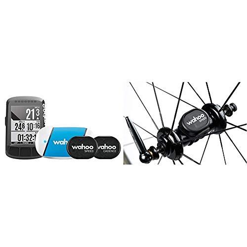 Wahoo Fitness ELEMNT Bolt GPS-Fahrradcomputer Set & RPM Geschwindigkeitssensor, Bluetooth/ANT+
