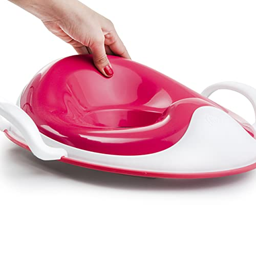 PRINCE LIONHEART weePOD Squish Réducteur de Toilette Rose/Blanc