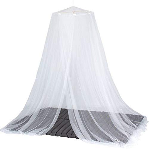 Surenhap Rond muggennet hangende overkapping van de koepel muggennet voor binnen en buiten, 50 x 230 x 850 cm