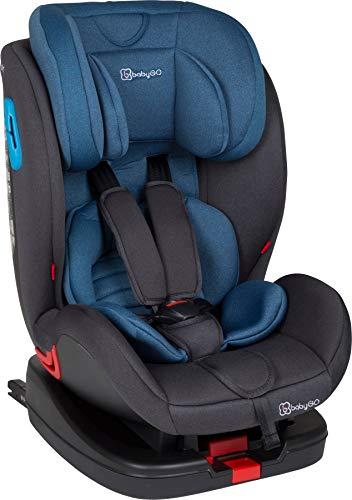 babyGo Symphony blue Kinderautositz Isofix 0-25 kg