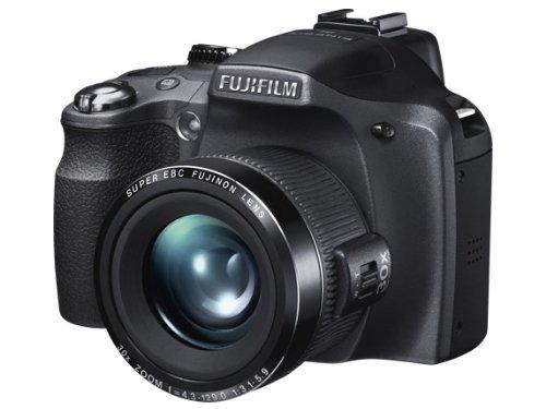 """Fujifilm FinePix SL240 - Cámara compacta de 14 Mp (pantalla de 3"""", zoom óptico 24x, estabilizador de imagen óptico, vídeo HD 720p) color negro"""