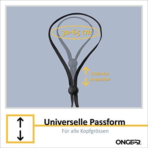 OnGear 5-Set Maskenband Verstellbarer Clip Ohrenschonend [erhöhter Komfort] | Einfaches Lockern und Festziehen bei An- und Ablegen | Erwachsene u. Kinder | Linderung v. Ohrenschmerzen