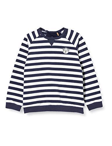 Bellybutton mother nature & me Baby-Jungen Sweatshirt T-Shirt, Mood Indigo|Blue, 80