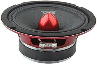 """DS18 PRO-X6.4BM Loudspeaker - 6.5"""", Midrange, Red Aluminum Bullet, 500W Max, 250W RMS, 4 Ohms - Premium Quality Audio Door... photo"""