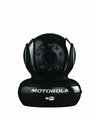 Motorola Scout1 Wi-Fi Pet Monitor for Remote Viewing with iPhone and Android Smartphones and Tablets, Black