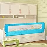 Letto per bambino, portatile e pieghevole per il letto singolo letto guardia di sicurezza protezione protezione per il bambino del bambino e bambini, 180x 64cm/150x 64cm