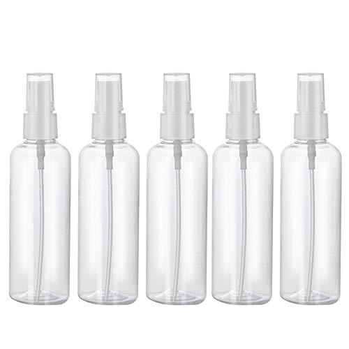 Hvoz Bottling, 5/10PCS 100ml Reizen Transparant Kunststof Parfum Atomizer Lege Spray Fles Hergebruik