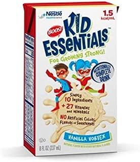 BOOST KID ESSENTIALS 1.5, 33540000 Pediatric Oral Supplement / Tube Feeding Formula Case of 27