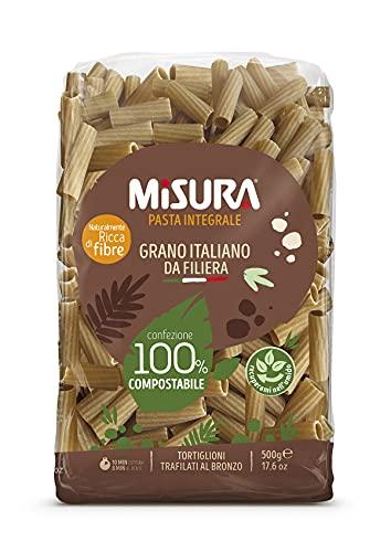 Misura Tortiglioni Integrali Fibrextra | Grano 100% Italiano | Confezione da 500 grammi
