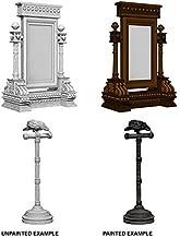 Wizkids Deep Cuts Unpainted Miniatures Mirror & Bird on Stand