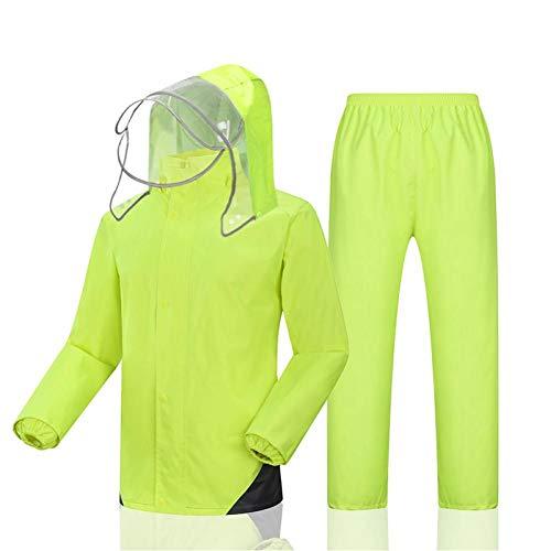 generio - Angel-Jacken für Damen in Light Green, Größe 4XL