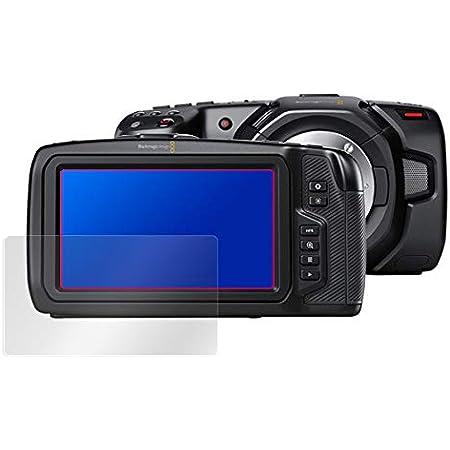 Blackmagic Pocket Cinema Camera 4K / Blackmagic Pocket Cinema Camera 6K 用 日本製 指紋が目立たない 光沢液晶保護フィルム OverLay Brilliant