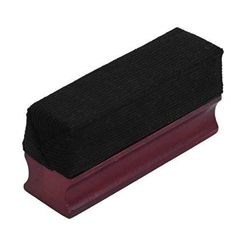 Lepeuxi Spazzola per pulizia dischi in velluto morbido con manico in legno per prodotti per la pulizia di dischi in vinile