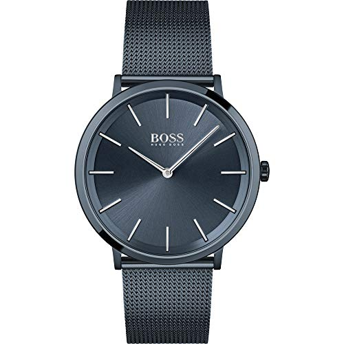 Hugo Boss Reloj Analógico para Hombre de Cuarzo con Correa en Acero Inoxidable 01513827